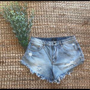 Forever 21 denim shorts 🦋